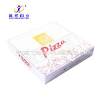 Boîte de pizza en papier en vrac Brown Kraft pas cher