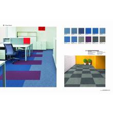 Material de PP Azulejo de alfombra de oficina con respaldo de Eco-Betún