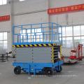 14m mobile portable hydraulic scissor lift