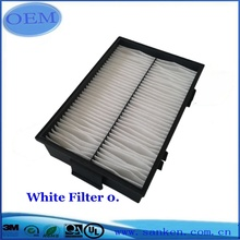 White Air Filter For Automobile Accessories
