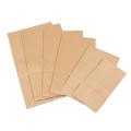 Sac en papier kraft brun recyclé