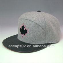 Patrón de impresión personalizado 5 paneles sombreros y gorras al por mayor