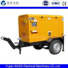BOSS 16KW/20KVA 60HZ QUANCHAI diesel Trailer type mobile generator