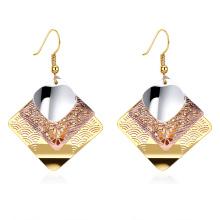 Boucles d'oreilles en or plaqué orardin pour la femme 2017 le plus récent