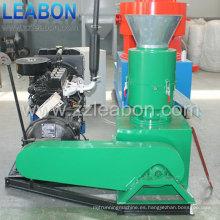 (250D) Máquina doméstica de la prensa de la pellet de la paja de Diesel