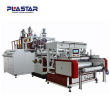 CD-75-1200 aderente de camada única e máquina para fabricação de filme estirável