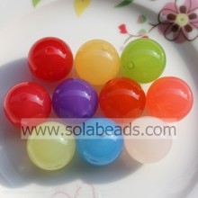 Party Decoration 20mm Necklace Round Pony Beads