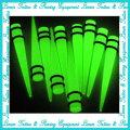 Espessura Noctilucent Acrílico UV Spiral ear Expander Piercing jóias orelha plugue túneis de ouvido