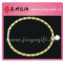 Shandian Handmade Zirkon Farbleder Handwerk Halsketten