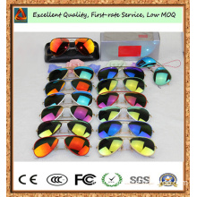 2014 New Flash Colorful Lens Original Quality Sunglasses 3025jm Man and Women Brand Sunglass