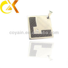 Chine alibaba Bijoux en acier inoxydable pendentif pour homme, pendentif en forme de carré