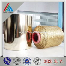 japanese metallic yarn by colored metallized PET film