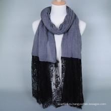 Модный дизайн исламской кружевной хиджаб