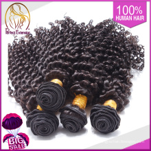 Machine à coudre chinoise couleur # 613 Weave 28 pouces cheveux bouclés Kinky
