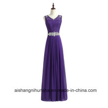 Women Lace and Chiffon Evening Party Bridesmaid Dresses