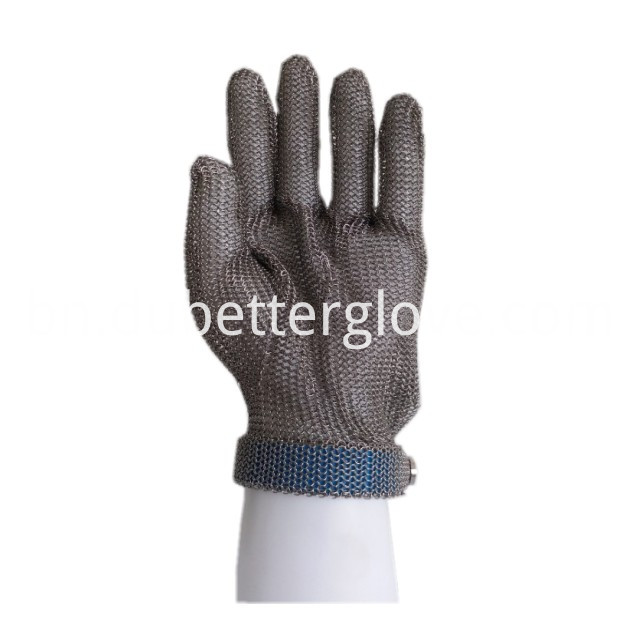 metal mesh gloves with eva strap