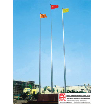Tiang bendera Stainless Steel