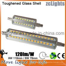 Светодиодная лампа R7s 9W, замена традиционной галогенной лампы Светодиодная лампа R7s