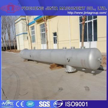 Высокоэффективная вертикальная стеклянная стальная стеклянная дистилляционная колонна Jx с сертификатом TUV