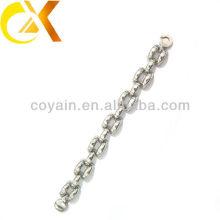 Из нержавеющей стали ювелирные изделия изящный серебряный браслет Китай производитель