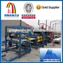 ls-Mineral Wool & Glass Wool Sandwich Panel Machine Line
