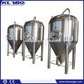Fermenteur conique de bière de différents volumes utilisé pour la brasserie