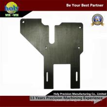 Peças de alumínio anodizadas do CNC da placa de chapa metálica das peças do CNC