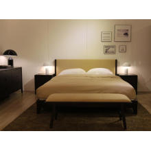 American Style Bedroom Furniture Wooden Double Bed (A-B37)