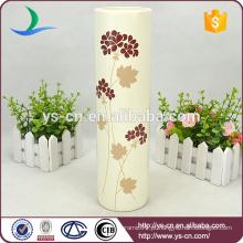 2014 cerâmica vaso de casamento decorativo, vasos de mesa de casamento