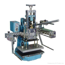 manual edge gilding hot foil stamping machine