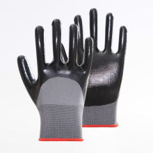 Nitrile Coated Gloves used for Work