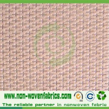 Tissu non tissé PP en conception croisée en haute qualité Cambrelle100%