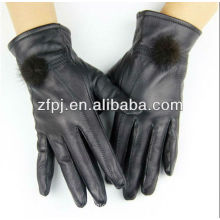 daily use items clothing fashion real fur gloves leather