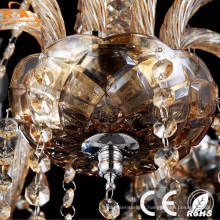 Modern Attractive Unique Gold Crystal Pendant Lamp