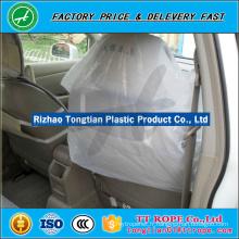 HDPE / LDPE housses de siège en plastique transparent pour voiture