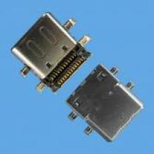 Female Board Mount C Type SMT Connector USB 3.1