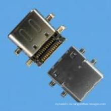 Разъем для гнезда для платы S Тип SMT Разъем USB 3.1