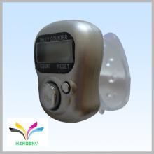 Anel de presente Digital Blue Muslin Finger 6 dígitos lcd display counter
