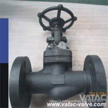 API 602 Forged Steel A105 Flanged Globe Valve Manufacturer