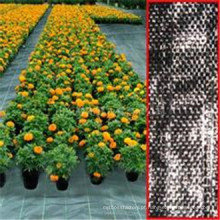 Material de 100% Vigin PP, tampa à terra tecida PP da tela do geotêxtil / tela barreira da erva daninha