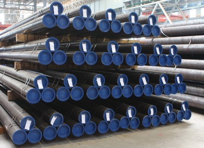 Low temperature steel pipe