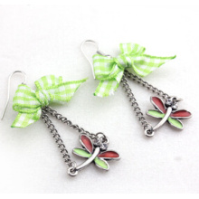 Christmas Jewelry/Christmas Earring/Christmas Dragonfly (XER13379)