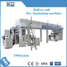 Machine à stratifier de revêtement de papier à film en plastique à extrusion