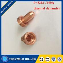 10 / piezas de antorcha de plasma 9-8212 100A punta de soldadura de la dinámica térmica