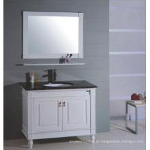 Vaidade de madeira branca do banheiro (B-315)