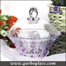 Colored Glass Candy Jar Candy Pot/Glassware (GB1809ZS/P)