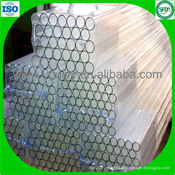 Clear Low Borosilicate Glass Tube