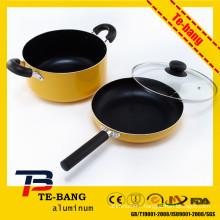 Large stock pot enamel pot black iron pots