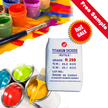 Rutile Titanium Dioxide Masterbatch Paint (R299)