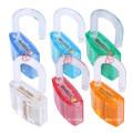 Transparent Locksmith Practice Lockpicking/Electric Cabinet Padlock safety Lock 50#